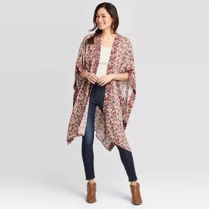 Knox Rose Floral Kimono